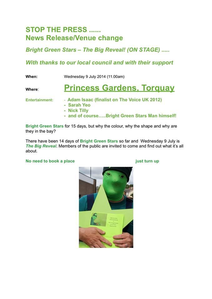 Green Star Man