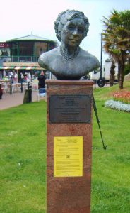 Torquay's most famous resident immortalised, Agatha Christie, blighted by planning application.