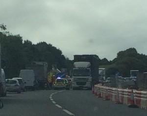 Emergency services on Hamlyn Way