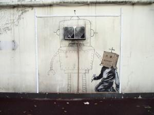 Banksy_Torquay_robot