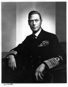 NPG P490(36); King George VI by Yousuf Karsh