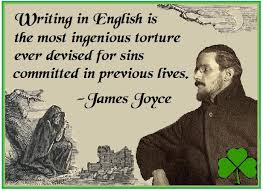 james joyce style of writing James joyce writing style is very unique in comparison to others authors although he hasn't written much, his writings touches us very deeply his work is more.