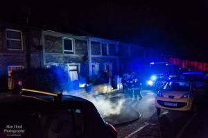 Fire crews in Ellacombe