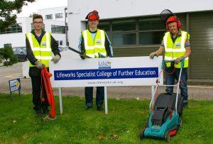 Lifeworks College Students- L-R – Bryn, Louis, Ben