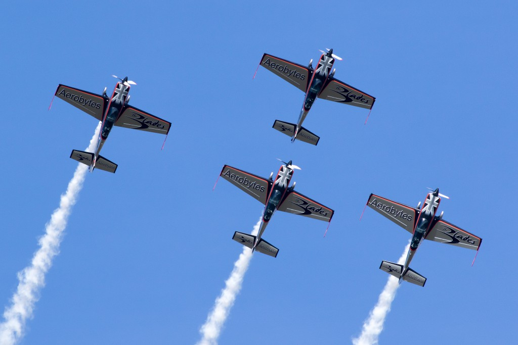 The Blades display team will be at the Torbay Airshow