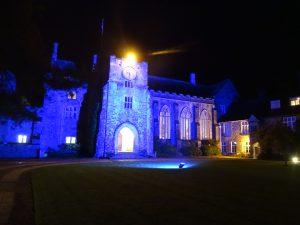 dartington-at-night