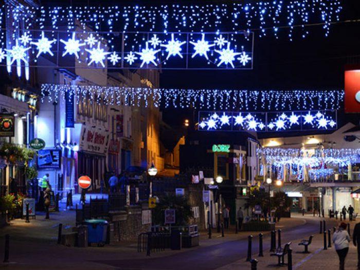 Christmas Lights Set Up