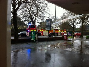 Reports of damage to roof. BP garage Hele Torquay Photo credit: Curtis Timms