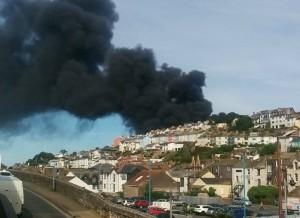 Fire Brixham