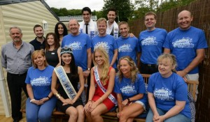 Some of our volunteers attended the ceremony to hand over the Memory Maker caravan donated by the Miss World / Miss England charity- Beauty with a Purpose. In attendance were Miss England, Miss World, Mr England and Mr World.