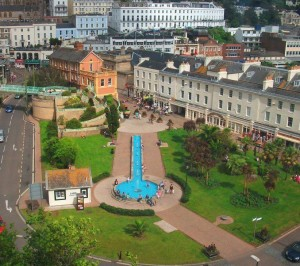 The beautiful Cary Green in Torquay.