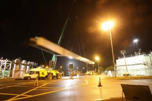 Previous beam lift Photo Credit: Glenn Bowden/WASD