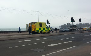 Ambulance at the scene