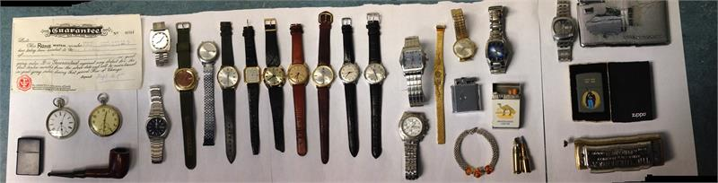 Do you recognise any of these items?