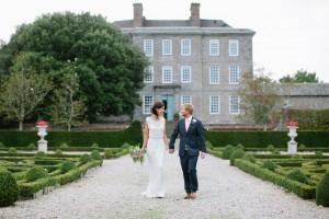 Wedding Couple at kingston estate