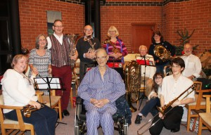 Ted Hoare and Bay Brass