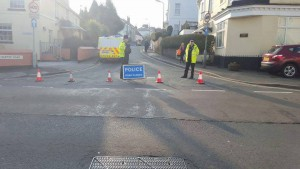 Hartop Road is closed