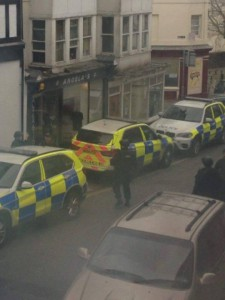 Police searching in Paignton