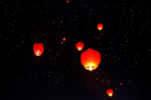 A Chinese lantern is thought to have started the fire