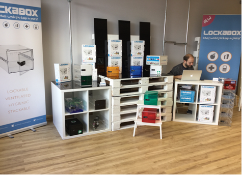 Lockabox at Torquay's pop up shop