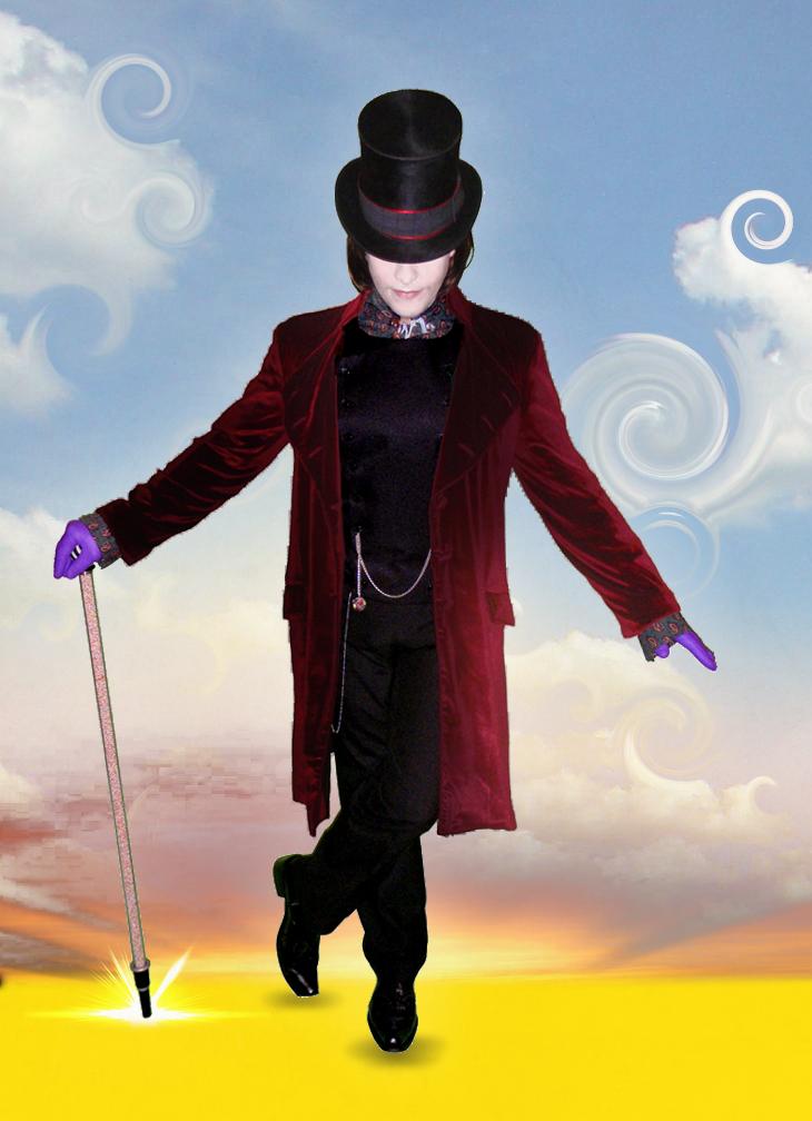 Jonty Depp as Willy Wonka