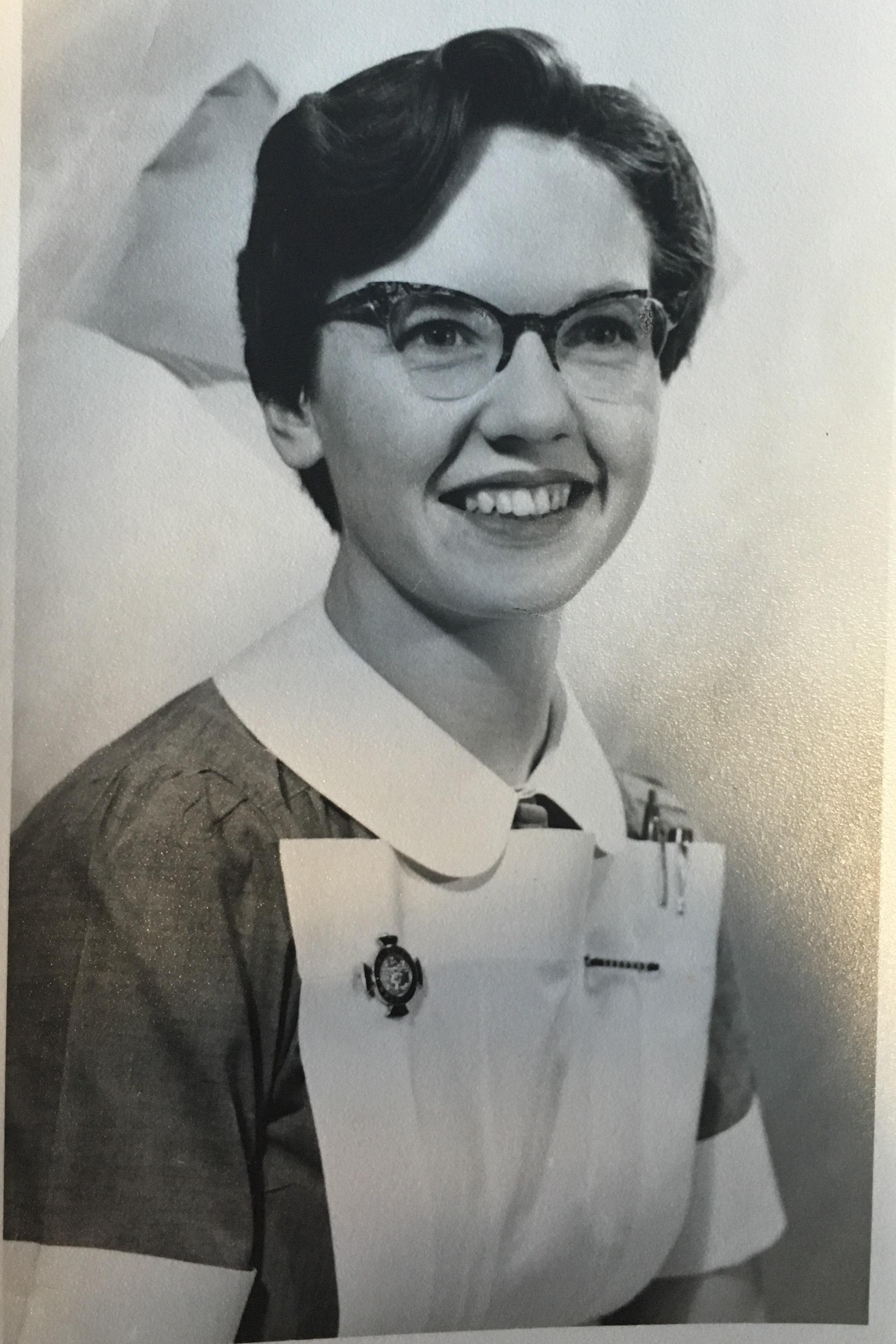 Monica Bulman in 1957